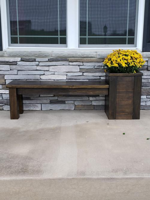 Plant Stand Bench